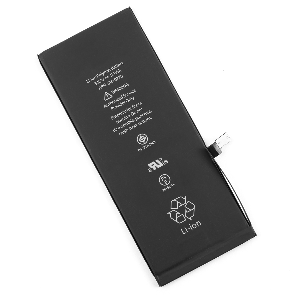 new battery for iphone 6 plus cell phone model a1522 a1524. Black Bedroom Furniture Sets. Home Design Ideas